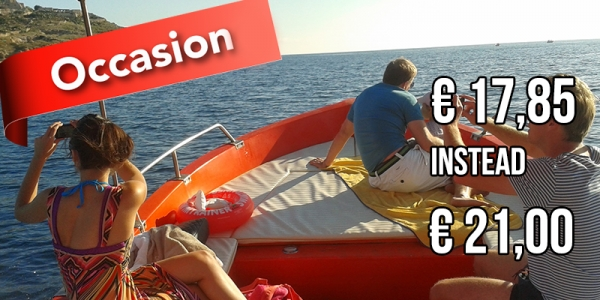 BOAT EXCURSION 3 hours 30 minutes departing Santa Maria di Leuca.